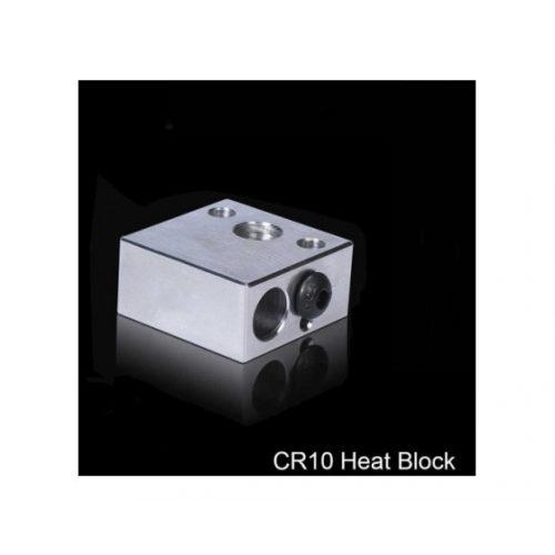 Aluminum Creality Heater block 20x20x10mm for CR10 v2