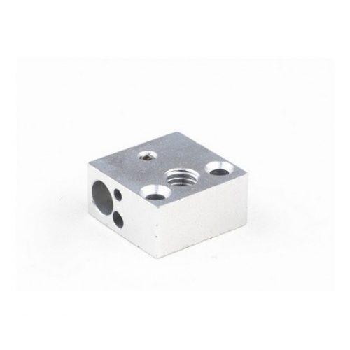 Aluminum Heater block 20x20x10mm - Original