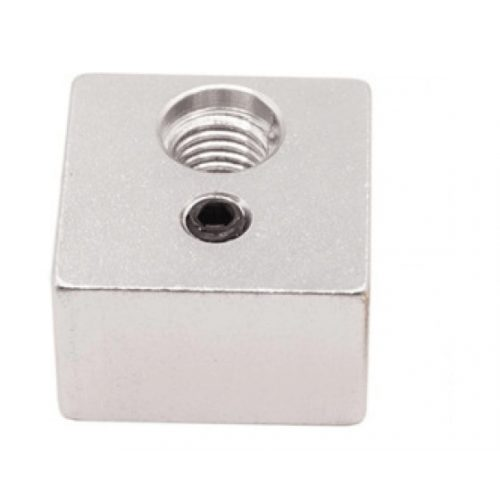 Aluminum heat block 20x20x10 MK10