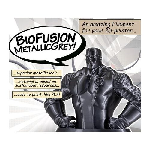 BioFusion - Metallic grey