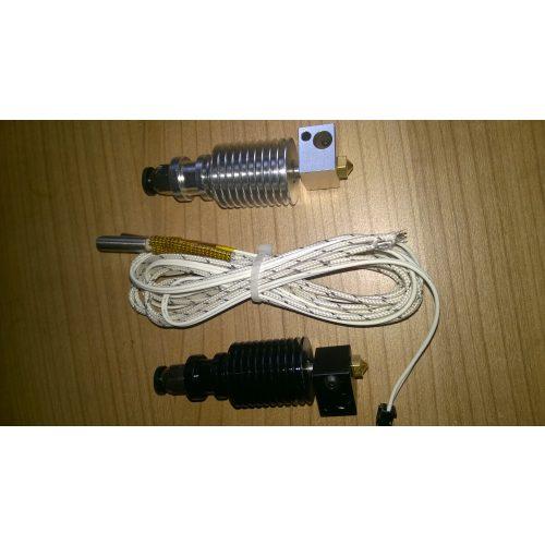 E3D v6 hotend for high temperature-320C  (12V / 24V kivitelben)