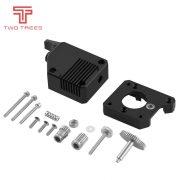 BMG Extruder Cloned Btech Dual Drive Extruder, Bowden Extruder Filament, Dual Gear + optionally stepper motor