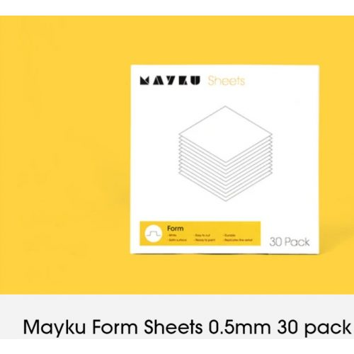 Mayku - FormSheets 0,5mm x 30db