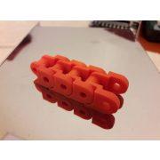 FilamentPM PETG - fedett piros