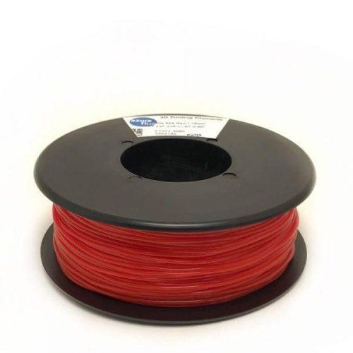 TPU shoreA 85 - piros 300g